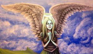 Art Angel 2 by PsychicMindWars777