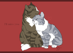 Kamera and Collin - I'll miss you. by BanditKat