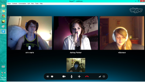 Skype Party by F0SSA