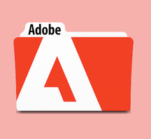 Adobe folder by medamayaki
