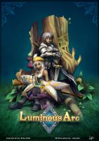 Luminous Arc - 3D Recreation Poster by davislim