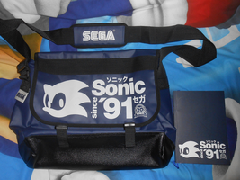 Sonic 20th bag by f-sonic