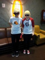Colossalcon 2012- Dave and Dirk Strider by 22123