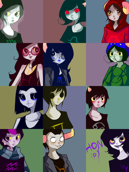 all of the trolls by dollieguts