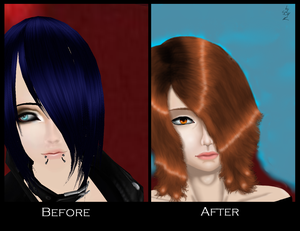 Before And After Edit - Ayashi