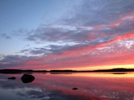 Sky in Flames by Petritap