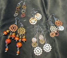 Some Steampunk Jewelry 1 by Frohickey