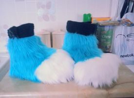 Comet Feetpaws WIP by LittleRock3DD