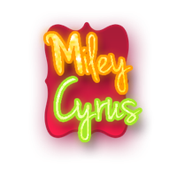 Text PNG Miley Cyrus by SuperstarElevate