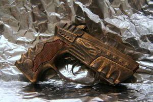 Steampunk mini blaster by JohnsonArms