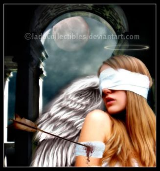 Wounded Angel by JadaCollectibles