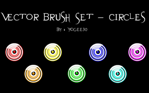 Vector Brush Set - Circles by Yogee30