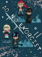 Ao No Exorcist by Sushiboiiiyy