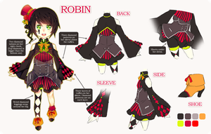 Robin Reference Sheet by FrozenTimez