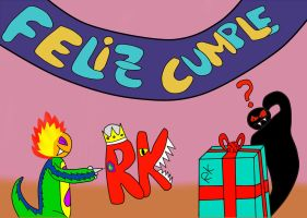 Cumple RK 2013 by Quilmer