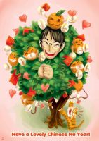 Happy Lovely Chinese Nu Year by yohat