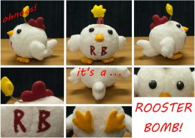 Rooster Bomb by angelsarefascists