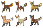 Pups for NightShrowd7-17 by LizzysAdopts