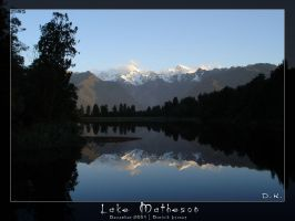 lake matheson by dkraner