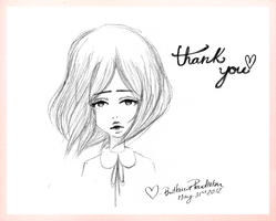 A Thank You From Rabbit by beyourpet