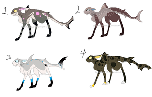 Shark Dog adoptables Auction by Silhouett3s