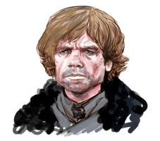 Tyrion- Game of Thrones by ARTofANT