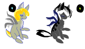 OTA Slendy Ponies [OPEN] by MaggiesAdoptables