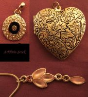 Jewellery Charms 1 by athlinia-stock