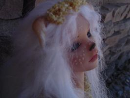 Faun Polymer Clay OOAK Sculpt by LindaJaneThomas