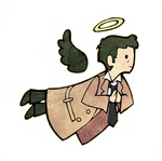 tiny castiel by CatusSnake