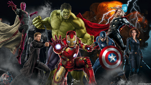 Avengers Age Of Ultron by D-CDesigns
