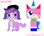 Lps Zoe And Unikitty! by teamlpsandacnl