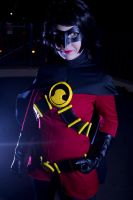 Earth 63: Red Robin by breathless-ness