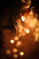 Xmas bokeh lights by arvael18