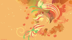 Rainbow Power Applejack Silhouette Wall by SpaceKitty