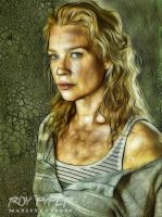 The Walking Dead: Andrea: Fractalius Re-Edit by nerdboy69