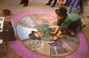 3D Chalk Drawing 8 by ABCalex