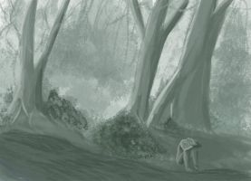 The woods speed painting by straightx