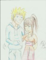 :.Naruto and MsKyuubiNaruto.: by Ladywiththeface