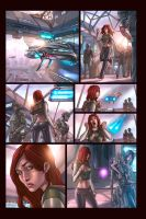 Old comic page by ulises-arreola