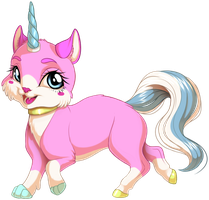Unikitty by KittehKatBar