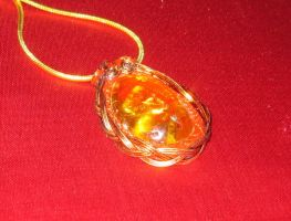 Amber Pendant by articraft