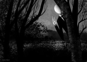 Sympathy for slender man by CottonValent