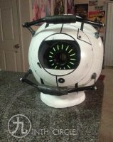 Space Core. Talking helmet from Portal 2. Cosplay. by NinthCircleCosplay