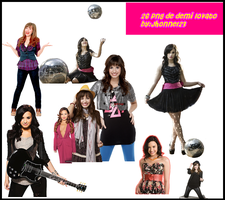 Packs De Demi Lovato by Jhonne123