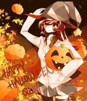 Halloween 2014 [SPEEDPAINT] by Mellow-Bun