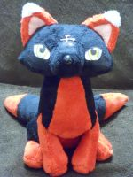Sagome the Fox by PlushPrincess