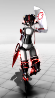[MMD] Robo-Chan + Download by RenardDesOmbres