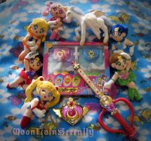 My Sailor Moon SuperS Collection by MoonLainSerenity