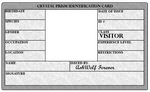 Crystal Prism Visitor ID Card by AshWolf-Forever